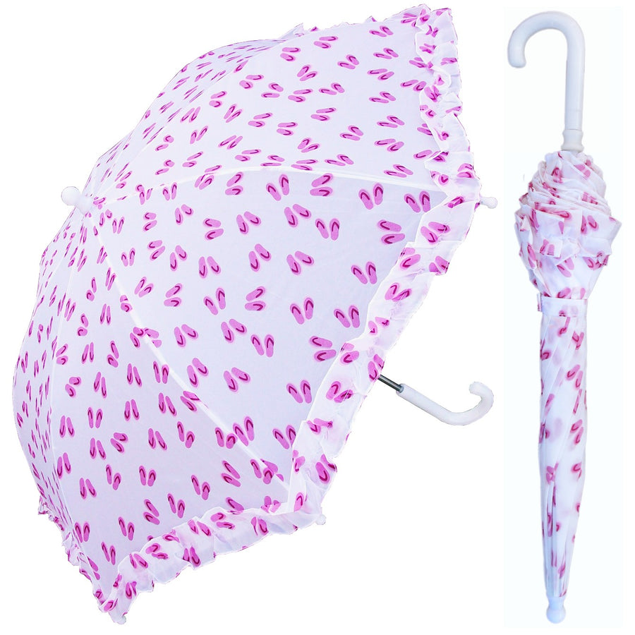 Wholesale Children's Flip-Flop Print Umbrella