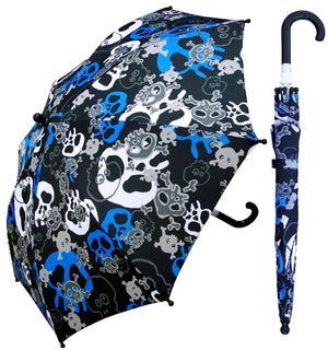 Wholesale Children's Skull Print Umbrella