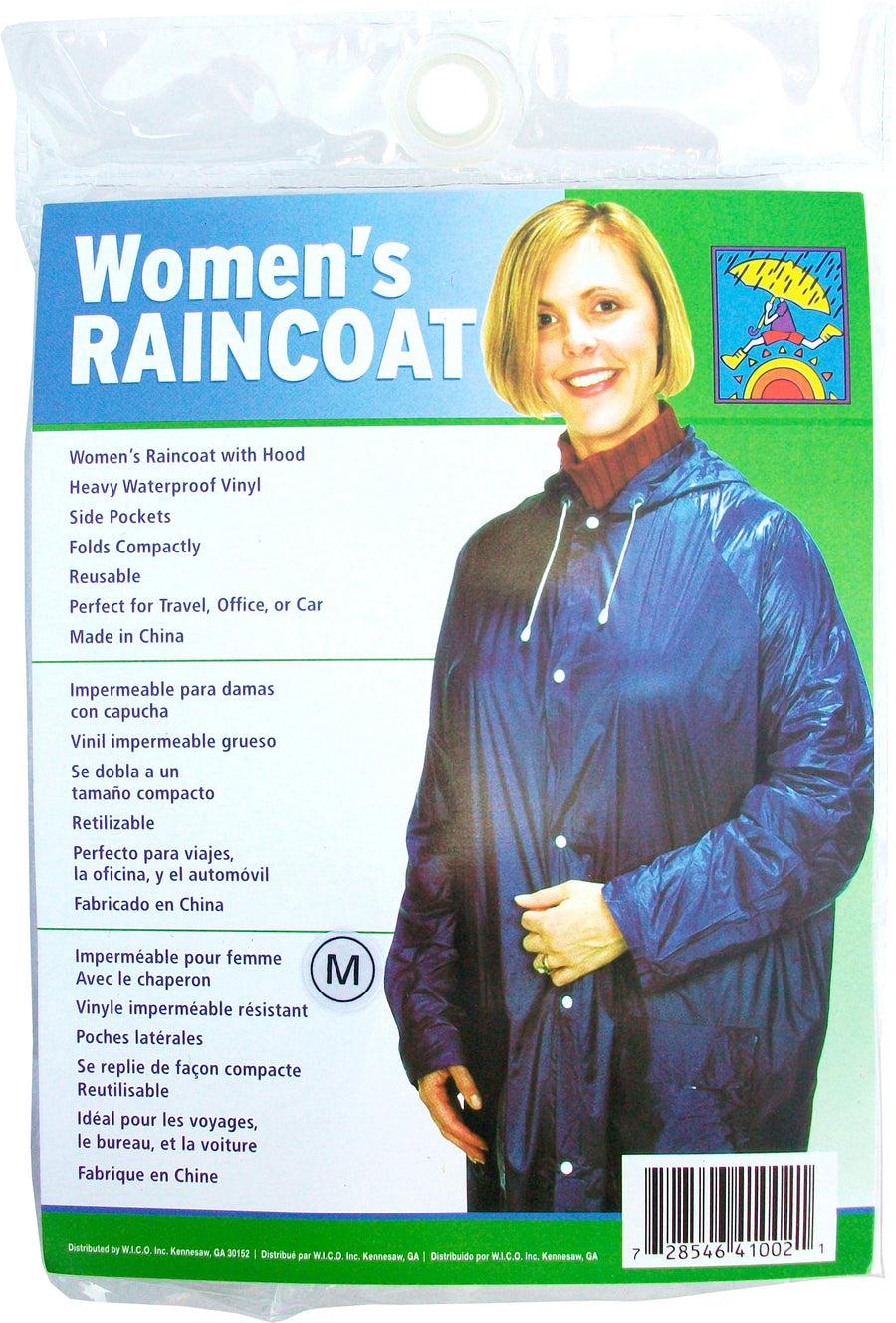 Wholesale Women's Reusable Raincoat
