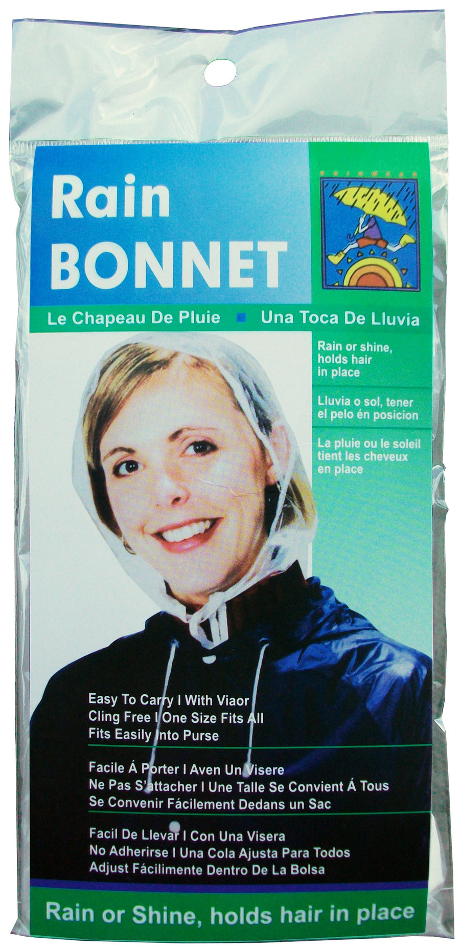 Wholesale Rain Bonnet with Visor