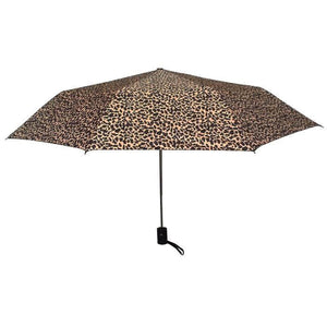 Wholesale Fashion Brown Leopard Umbrella