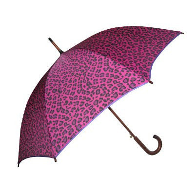 Wholesale Fashion Pink Leopard Umbrella