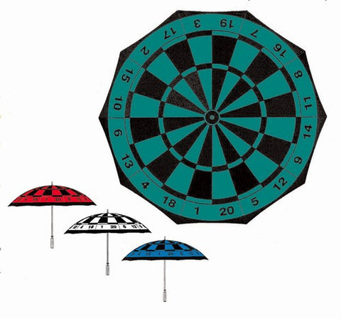 Wholesale Dart Board Print Beach/Garden Umbrella