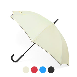 Wholesale Auto-Open Umbrella with Braided Cord Trim