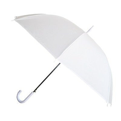 Wholesale Anti-Glare White Umbrella