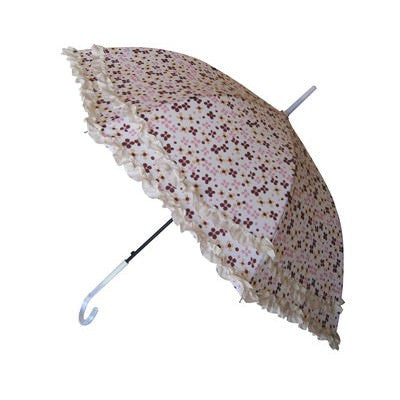 Wholesale Fashion Ruffles Flower Umbrella