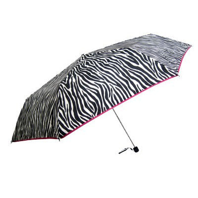 folding zebra umbrella