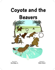 Coyote and the Beavers   Coy-7