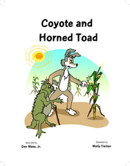 Coyote and Horned Toad   Coy -3