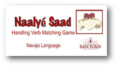 Navajo Language Handling Verb Memory Game