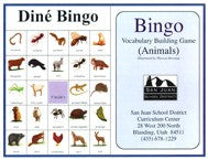 Dine Bingo Animals