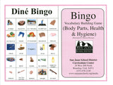 Dine Bingo Health and Body