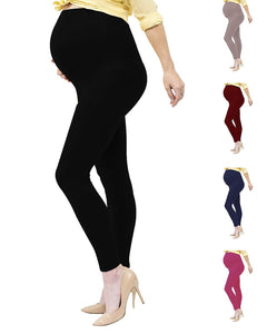 Viosi Maternity Leggings | Pregnancy Pants | Yoga | Over The Belly | High Waisted