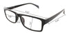 6 Pack Spring Hinge Readers Reading Glasses for Men and Women