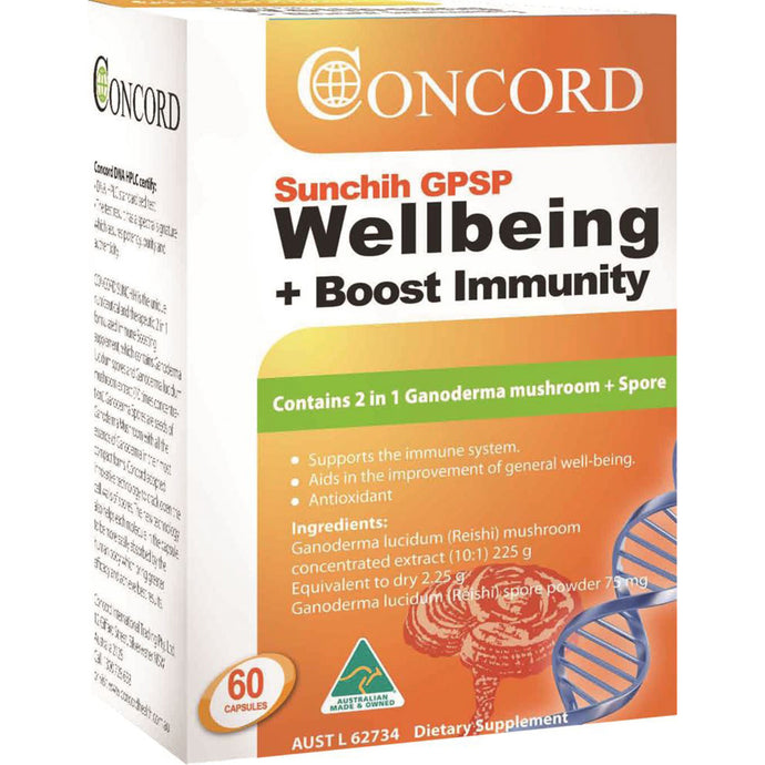 Concord Sunchih GPSP Wellbeing Boost Immunity 60c
