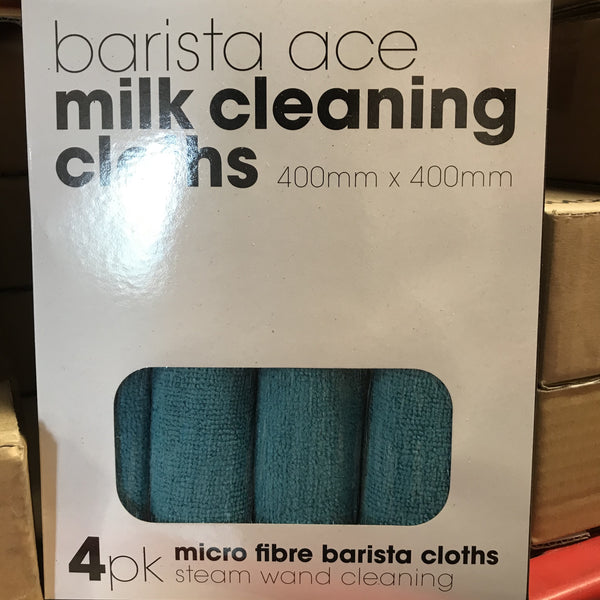 Barista Ace Milk Cloth - 4 pack