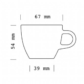 ACME Evolution Demitasse Cup 70ml