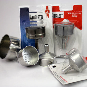 Bialetti Spare Funnel Stainless  C4 Coffee Co.