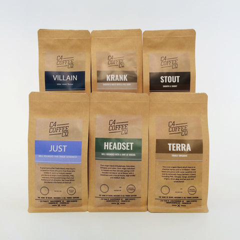 Discovery Box: Blends  C4 Coffee Co. - 1