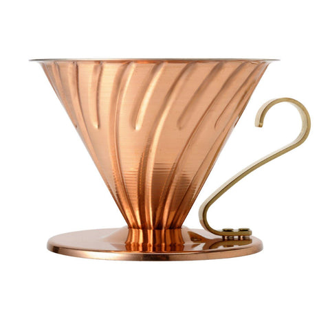 Hario V60 Copper Dripper  C4 Coffee Co.