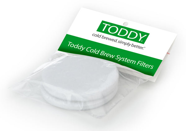 Toddy Replacement Felt Filters: 2 Pack