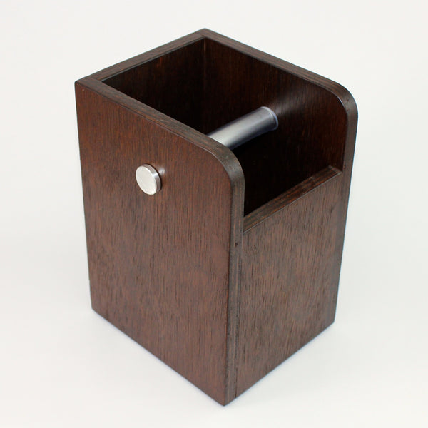 Impress Knock Box: Dark Wood