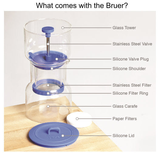 Bruer Cold Drip System  C4 Coffee Co. - 4