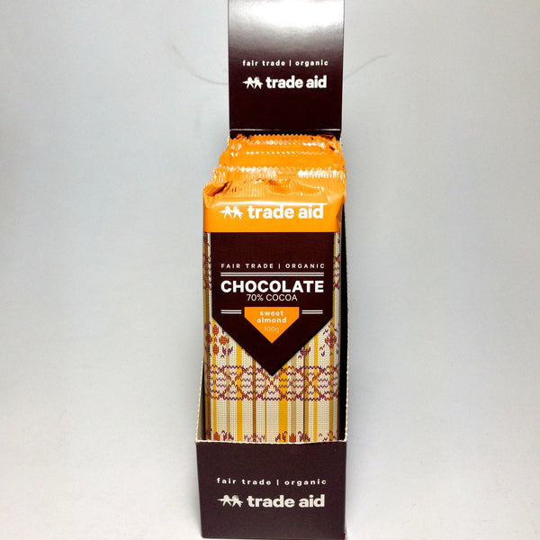 Trade Aid 100gm Chocolate  C4 Coffee Co. - 4