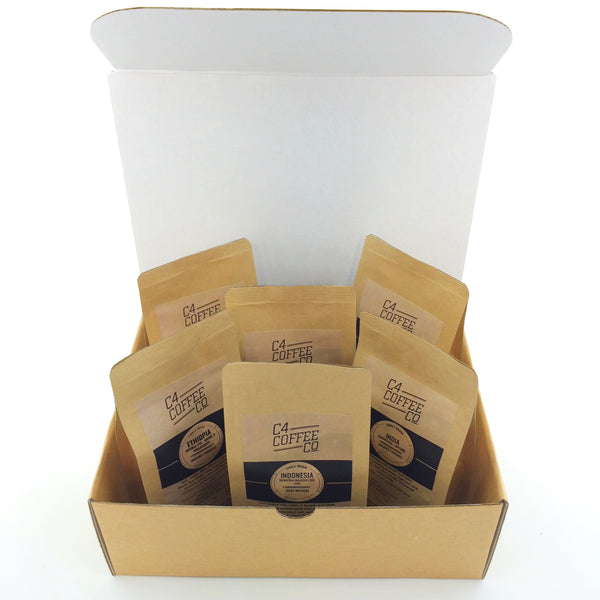 Discovery Box: Single Origins -  Medium  C4 Coffee Co. - 2
