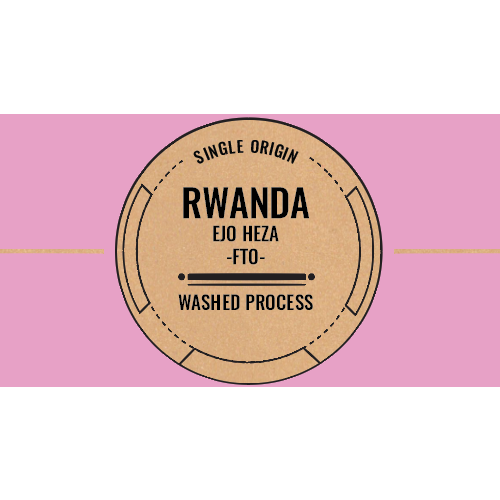 Rwanda: Ejo Heza FTO (Washed) - Light / Filter Roast