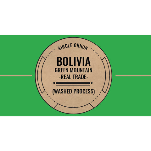 Bolivia: Green Mountain - real trade (Washed)  C4 Coffee Co.