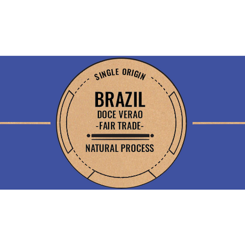 Brazil: Doce Verao (Natural) Medium / Espresso Roast