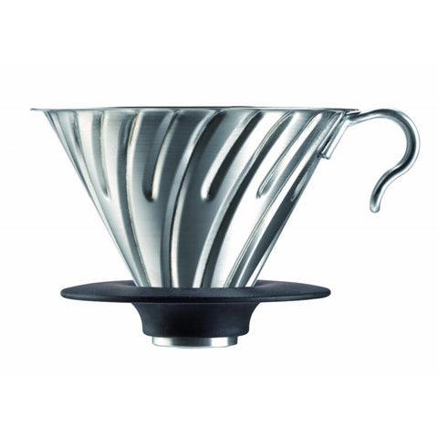 Hario V60 Stainless Steel Dripper  C4 Coffee Co. - 1