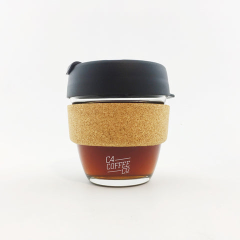 Keep Cup Brew Glass with Cork Band  C4 Coffee Co. - 1