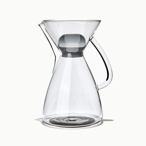 Ratio Handblown Glass Brewing Carafe
