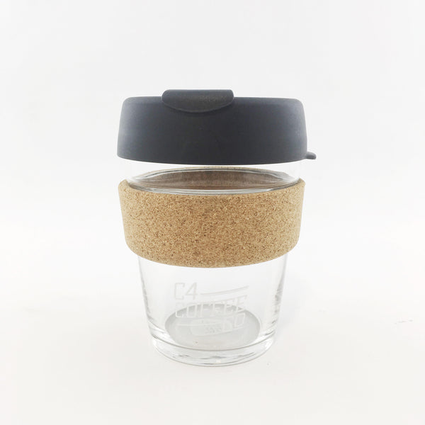 Keep Cup Brew Glass with Cork Band