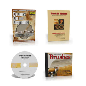 Acoustic Drum Loops and Percussion Loops Bundle