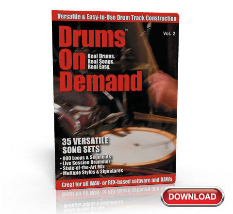 Mixed Bag Drum Loops 2