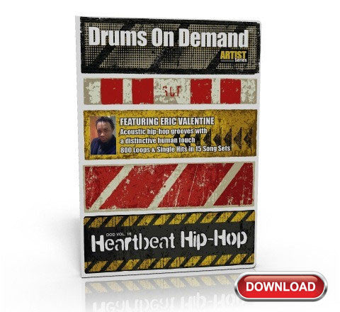 Heartbeat Hip-Hop Drum Loops