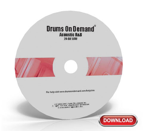 Acoustic R&B Drum Loops