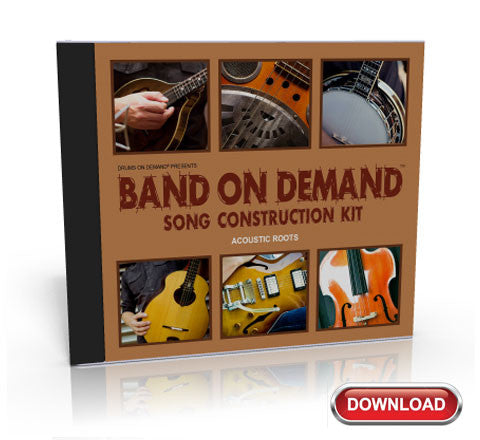 'Acoustic Roots' Loop Construction Kit - Band On Demand V