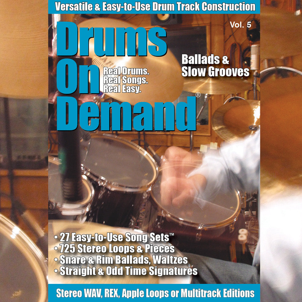 Ballads & Slow Groove Drum Loops
