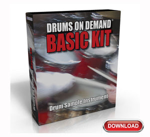 Basic DOD Drum Sample Instrument
