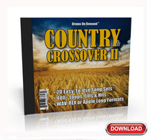 Load image into Gallery viewer, Country & Crossover Drum Loops Vol. 2