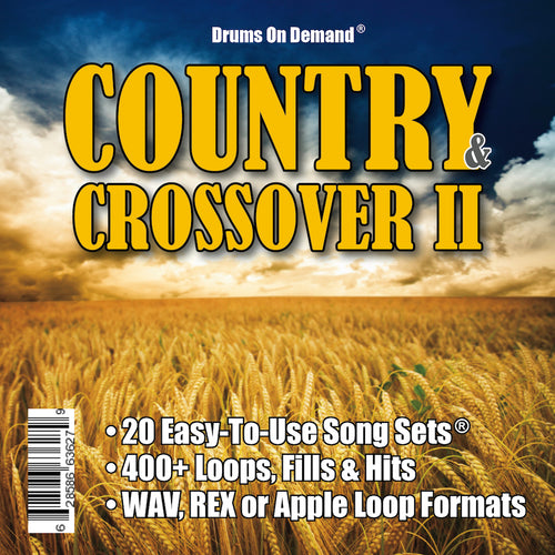 Country & Crossover Drum Loops Vol. 2