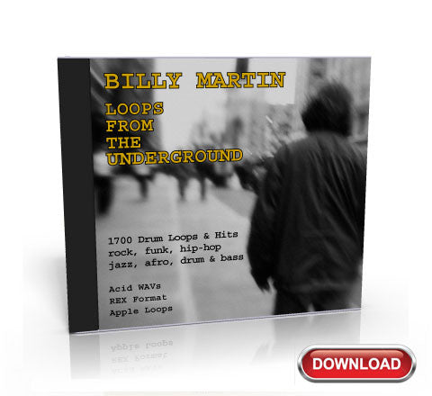 Drum Loops From The Underground — Featuring Billy Martin