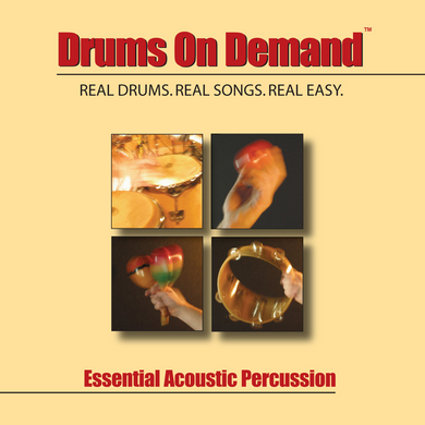 Essential Acoustic Percussion Loops