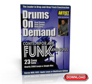funk drum loops CD