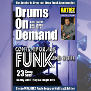 Funk Drum Loops and Soul Drum Loops – Drums On Demand