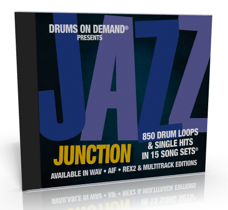 jazz drum loops from drums on demand